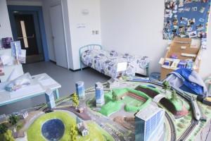 Salle de jeux au foyer Charles Frey, foyer de la jeunesse, maison d'enfants à caractère social, le 20 avril 2015, à Strasbourg.